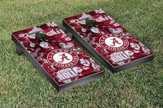 Cornhole Game Set - University of Alabama Crimson Tide Fight Song Version - 56038