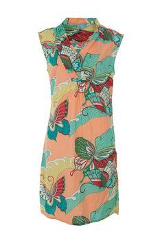 Firefly kaftans Riley Butterfly Cotton Dress - Womens Knee Length Dresses - Birdsnest Online Clothing Store