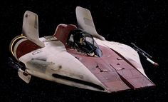 Official Photos From STAR WARS: EPISODE VIII Set Reveal A-Wing Fighter — GeekTyrant