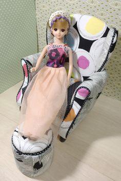 ウイングソファー お嫁に行きました。 カズミンブログ ドールのオリジナル家具