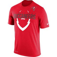 Tampa Bay Buccaneers Nike Legend Icon Dri-FIT T-Shirt - Red - $31.99