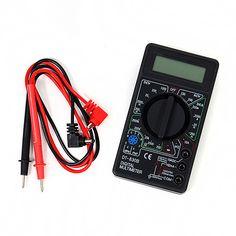Free shipping 1Pc LCD Digital DT-830B Electric Voltmeter Ammeter Ohm Tester Digital Multimeter