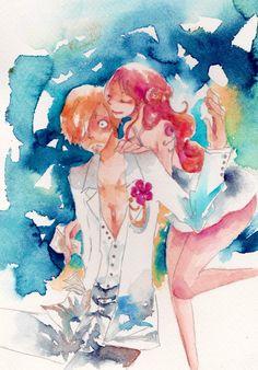 One Piece, Nami, Sanji