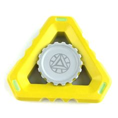 Buy triangle fidget spinner yellow metal High Quality fidget hand spinner. Model: ETN-E01 Triangle Metal, Material:Metal Alloy, Bearing: High Quality