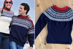 I finally got my own Marius Genser - what is the story behind this famous Norwegian Sweater? Outdoor Outfit, Fashion Labels, Red Sweaters, French Fashion, Red And Blue, Knitting Patterns, Dress Up, Norway, Knits