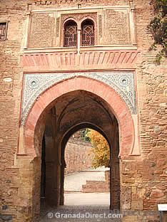 entrada a la alhambra de granada