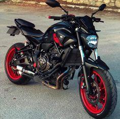 Dreams: FZ07 Yamaha Motorbikes, Yamaha Bikes, Motocross Bikes, Motorcycle Bike, Yamaha Fz 07, Moto Cross, Futuristic Motorcycle, Cafe Bike, Harley Bikes