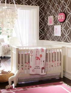 Adorable baby #nursery for a girl