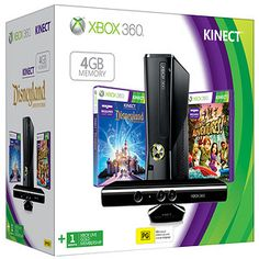 Xbox+360+4GB+Holiday+Value+Pack+With+Kinect
