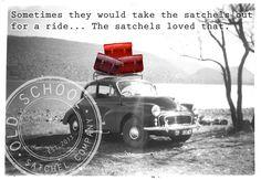 welcome blog post | Old School Satchel Company