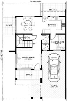 28 House Plan with Roof Deck House Plan with Roof Deck - Juliet 2 Story House with Roof Deck Home design plan with 4 bedrooms e Storey House Design with Roof Deck Pinoy Hou. House Map, House Deck, House Roof, Duplex House, Two Story House Design, Small House Design, Modern House Design, Modern House Floor Plans, Small House Plans