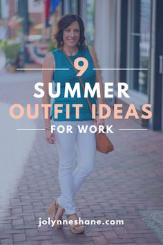 9 summer outfit ideas for work!