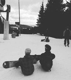 Povedený výlet #snowboarding #jeseniky #mountains #couple #love
