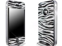 rhinestone zebra case
