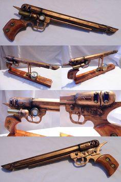 Plasma revolver - views by vanbangerburger on DeviantArt