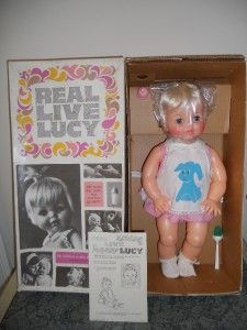 Vintage 1966 Real Live Lucy Doll Ideal 20-I loved this doll. I still have her.