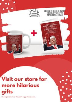 Funny Trump Merry Christmas mug that will make a great gag gift for a coworker, friend, mom, or dad. A holiday gift idea to remember the crazy year of 2020. The coffee cup is made of ceramic, it is dishwasher and microwave safe. Available in two sizes - 11 oz and 15 oz.
