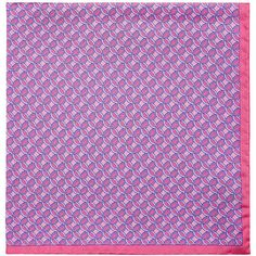 Barneys New York Men's Circle-Print Silk Pocket Square (1 100 ZAR) ❤ liked on Polyvore featuring men's fashion, men's accessories, handkerchiefs, pink, mens silk handkerchief and mens handkerchiefs