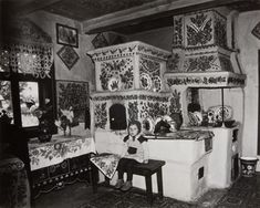 Sociological notes serie, Zofia Rydet People photographed in their homes in rural Poland, Classic Photography, Poland, Monochrome, In This Moment, Pictures, Painting, Vintage, Notes, Artists
