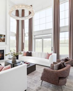 """Floor-to-ceiling luxe, achieved. Get the look at theshadestore.com // Design by Beechwood Homes"""""""