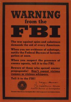 (via 1939-1945 : Warning from the FBI)