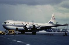 """The prototype Boeing 377 Stratocruiser was sold to RANSA and converted to a freighter. It was named """"Carlos"""" and registered YV-C-ERI."""