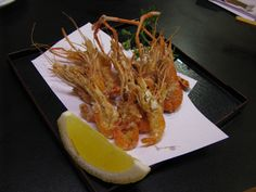 Freshwater shrimp at Kihachi