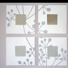 "Ikea ""malma"" mirrors"