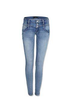 low waist #skinny #jeans #denim #TALLYWEiJL Tally Weijl, Female Clothing, Skinny Jeans, Clothes For Women, Denim, Pants, Blue, Stuff To Buy, Fashion