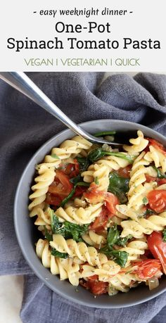 Vegetarian Breakfast Recipes, Vegan Dinner Recipes, Vegan Dinners, Pasta Recipes, Cooking Recipes, Healthy Recipes, Vegetarian Meals, Healthy Meals, Vegan Desserts