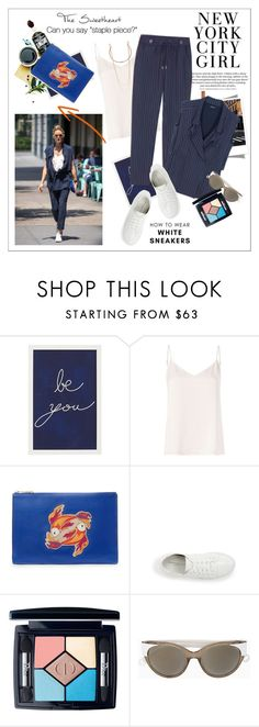 """Olivia Palermo - NYC girl"" by amaryllis ❤ liked on Polyvore featuring Pottery Barn, Cami NYC, L'Agence, Diane Von Furstenberg, Max&Co., Kenneth Cole, Christian Dior and Marc Jacobs"
