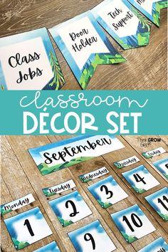 Elementary Classroom Themes, Calm Classroom, Classroom Decor Themes, Middle School Classroom, Classroom Environment, School Themes, Classroom Organization, School Ideas, Classroom Ideas