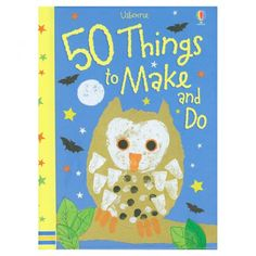 This title features 50 craft activities and is packed full of wonderful ideas to keep young kids busy.