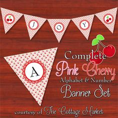 {Free} Complete Autumn Alphabet and Number Banner Bunting Set with extras - The Cottage Market