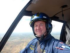 Helicopter Flight Training - Dave (Chalky) White