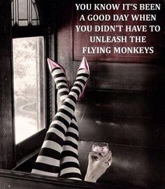 beware of the flying monkeys! – Better Resume Service beware of the flying monkeys! beware of the flying monkeys! Funny Meme Pictures, Funny Quotes, Funny Memes, Quotable Quotes, Madea Quotes, Art Of Seduction, Little Bit, Just For Laughs, I Smile