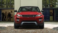 2015 RR Evoque in Firenze Red Front View