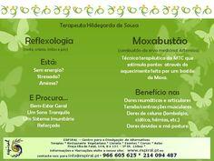 Reflexologia com ou sem Moxabustão