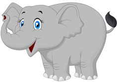 View album on Yandex. Happy Elephant, Elephant Love, Elephant Art, Elephant Outline, Cartoon Elephant, Dinosaur Illustration, Barn Animals, Baby Girl First Birthday, Cute Dinosaur