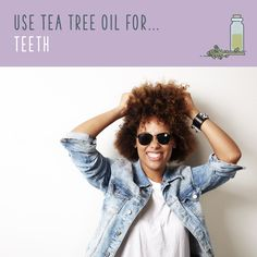 Tea tree oil uses are amazing! Discover tea tree oil benefits and the uses for tea tree oil that will have you stockpiling it. Tea Tree Oil Uses, Dark Spots On Skin, Gum Health, Dr Axe, Tea Benefits, Jojoba Oil, Essential Oils, Teeth, Remedies
