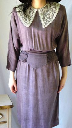 Winter Clearance 1980's Paquette Too Long by VictoireVintage