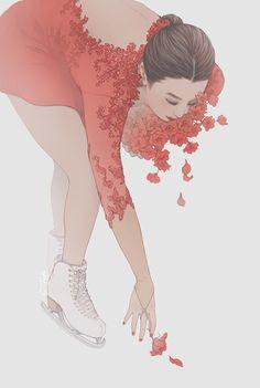a love one reach longer, and another one.  Mao Asada - Manuel de Falla's Ritual Fire Dance by Cynthia Tedy