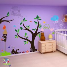 Playroom Wall Decal from Evgie.com