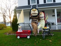 Fun Family Book Character Costumes: Where the Wild Things Are