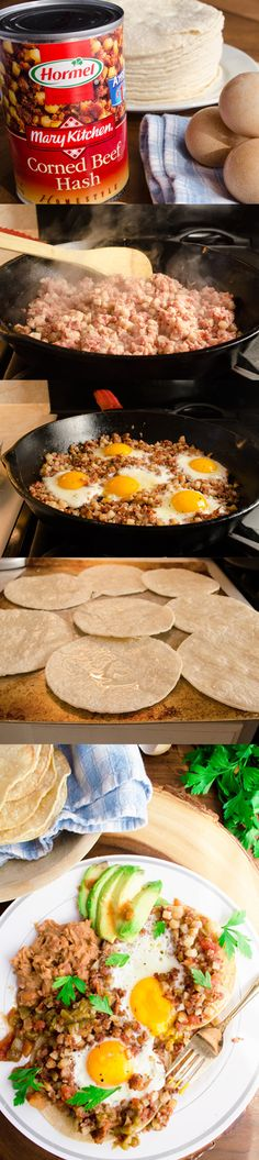 Two simple tricks in this breakfast recipe idea make this classic breakfast meal super fast and easy! Sponsored by Hormel.