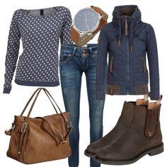 Freizeit Outfits: Schmuddelwetter bei FrauenOutfits.de
