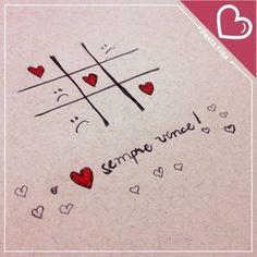O amor sempre vence ...