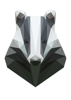 Geometric Badger. again, not yellow