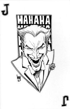 Joker sketch by wrathofkhan on DeviantArt