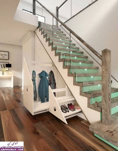 Scroll down to take a look in 15 Enchanting Staircase Design to Walk in a Style...